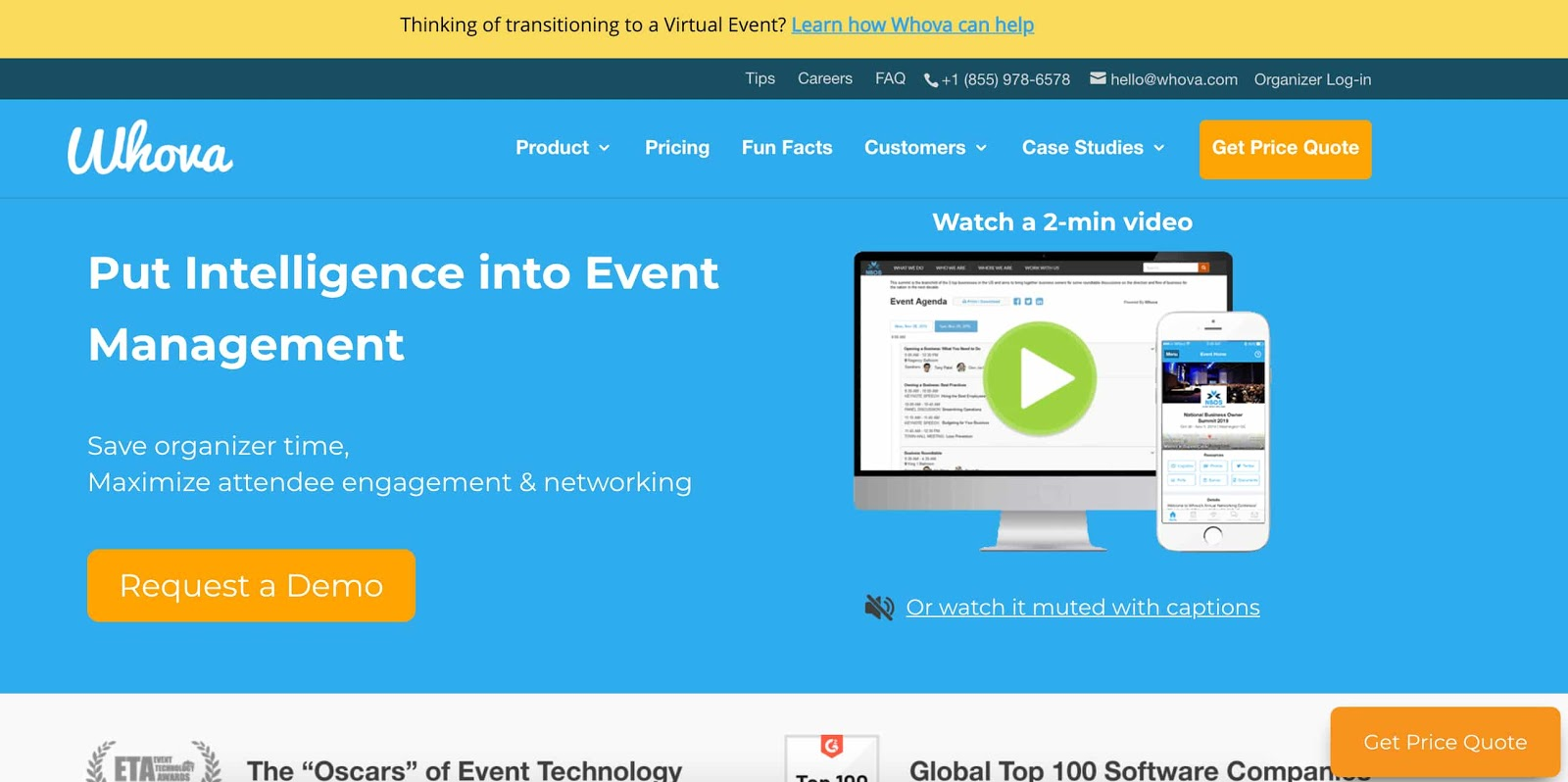 whova best online event registration tools
