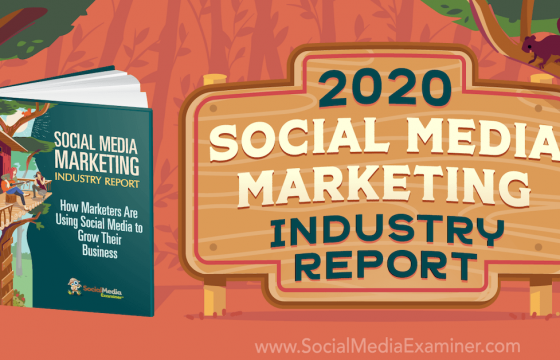 2020 Social Media Marketing Industry Report