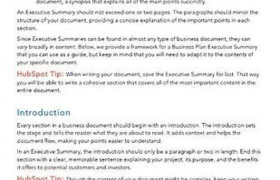 How to Write an Incredibly Well-Written Executive Summary [+ Example]