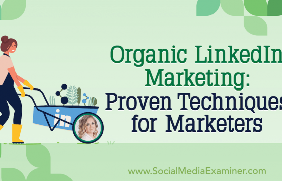 Organic LinkedIn Marketing: Proven Techniques for Marketers