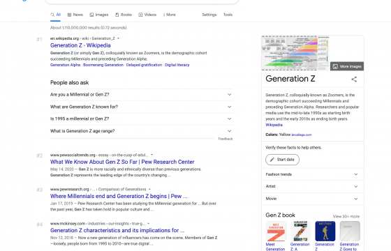 The Potential Impact of Gen Z on SEO
